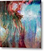 Cosmic String Metal Print by Linda Sannuti