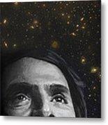 Cosmos- Carl Sagan Metal Print by Simon Kregar