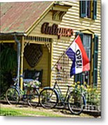 Country Antiques Metal Print by Julie Penney