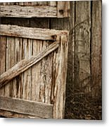Country Charm Metal Print by Amy Weiss