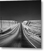 Country Farm Road Metal Print by Anthony Citro
