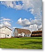 Country Farm Metal Print by Frozen in Time Fine Art Photography