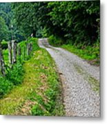 Country Road Metal Print by Frozen in Time Fine Art Photography