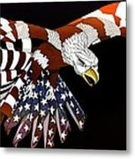 Courage Metal Print by Charles Drummond