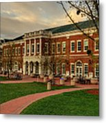 Courtyard Dining Hall - Wcu Metal Print by Greg and Chrystal Mimbs