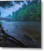 Covered Bridge  Metal Print by Everet Regal