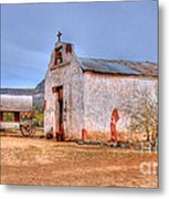Cowboy Church Metal Print by Tap  On Photo