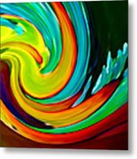 Crashing Wave Metal Print by Amy Vangsgard