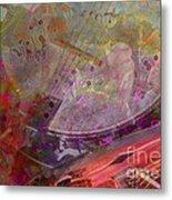 Creative Sounds Digital Banjo And Guitar Art By Steven Langston Metal Print by Steven Lebron Langston