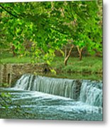 creek at Valley Forge Metal Print by Rima Biswas