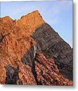 Crestone Needle Sunrise Metal Print by Aaron Spong