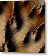 Crevasses  Metal Print by Heidi Smith