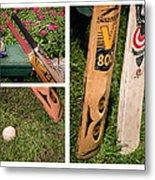 Cricket Series Metal Print by Tom Gari Gallery-Three-Photography