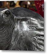 Crimson Tide For Christmas Metal Print by Kathy Clark