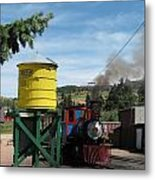 Cripple Creek Train Metal Print by Steven Parker