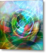 Crystal Nature Metal Print by Ann Croon