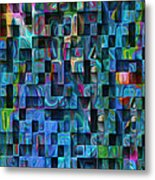 Cubed 3 Metal Print by Jack Zulli