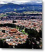 Cuenca And Turi Panorama Metal Print by Al Bourassa