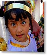 Cuenca Kids 246 Metal Print by Al Bourassa