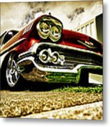 Custom Chevrolet Bel Air Metal Print by motography aka Phil Clark