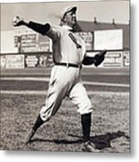 Cy Young - American League Pitching Superstar - 1908 Metal Print by Daniel Hagerman