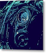 Cyber Punk Metal Print by Giuseppe Cristiano