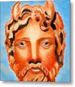 Cyprus - Zeus Metal Print by Augusta Stylianou