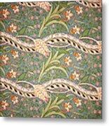 Daffodil Chintz Metal Print by John Henry Dearle