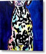 Dalmatian - Polka Dots Metal Print by Alicia VanNoy Call
