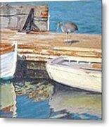Dana Point Harbor Boats Metal Print by Sharon Weaver