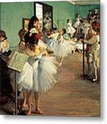 Dance Examination Metal Print by Edgar Degas