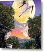Dance Of The Moon Fairy Metal Print by Garry Walton