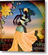 Dancer Of The Balcony Metal Print by Bedros Awak