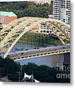 Daniel Carter Beard Bridge Cincinnati Ohio Metal Print by Paul Velgos