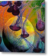 Dark Side Of The Moon 5d24939 Painterly M56 Metal Print by Wingsdomain Art and Photography