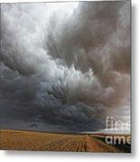 Dark Storm Clouds Metal Print by Boon Mee