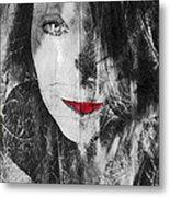 Dark Thoughts Metal Print by Linda Sannuti