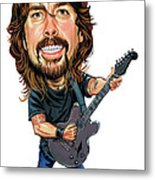 Dave Grohl Metal Print by Art
