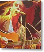 Dave Matthews At Vegoose Metal Print by Joshua Morton