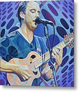 Dave Matthews Pop-op Series Metal Print by Joshua Morton