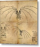 Davinci's Wings Metal Print by James Christopher Hill