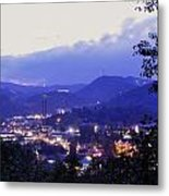 Dawn Of Gatlinburg Metal Print by Nian Chen