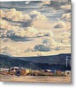 Dawson City Metal Print by Priska Wettstein