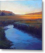 Daylight's End Metal Print by Ed Chesnovitch