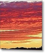 Days End Metal Print by Bruce Bley