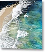 Days That Last Forever Waves That Go On In Time Metal Print by Artist and Photographer Laura Wrede