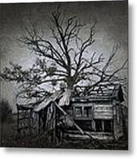Dead Place Metal Print by Svetlana Sewell