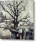 Decay Barn Metal Print by Svetlana Sewell