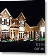 Decorated For Christmas Metal Print by Sarah Loft