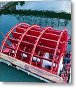 Delta Queen Paddle Wheel Metal Print by Kay Pickens